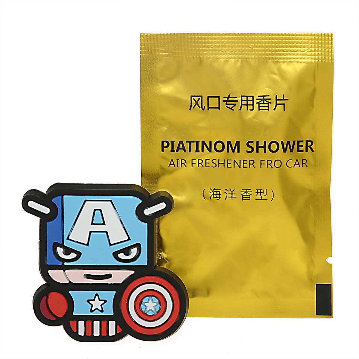 Sale - Car Perfume Vent Clip / Parfum Pewangi Mobil Superhero - Captain America1