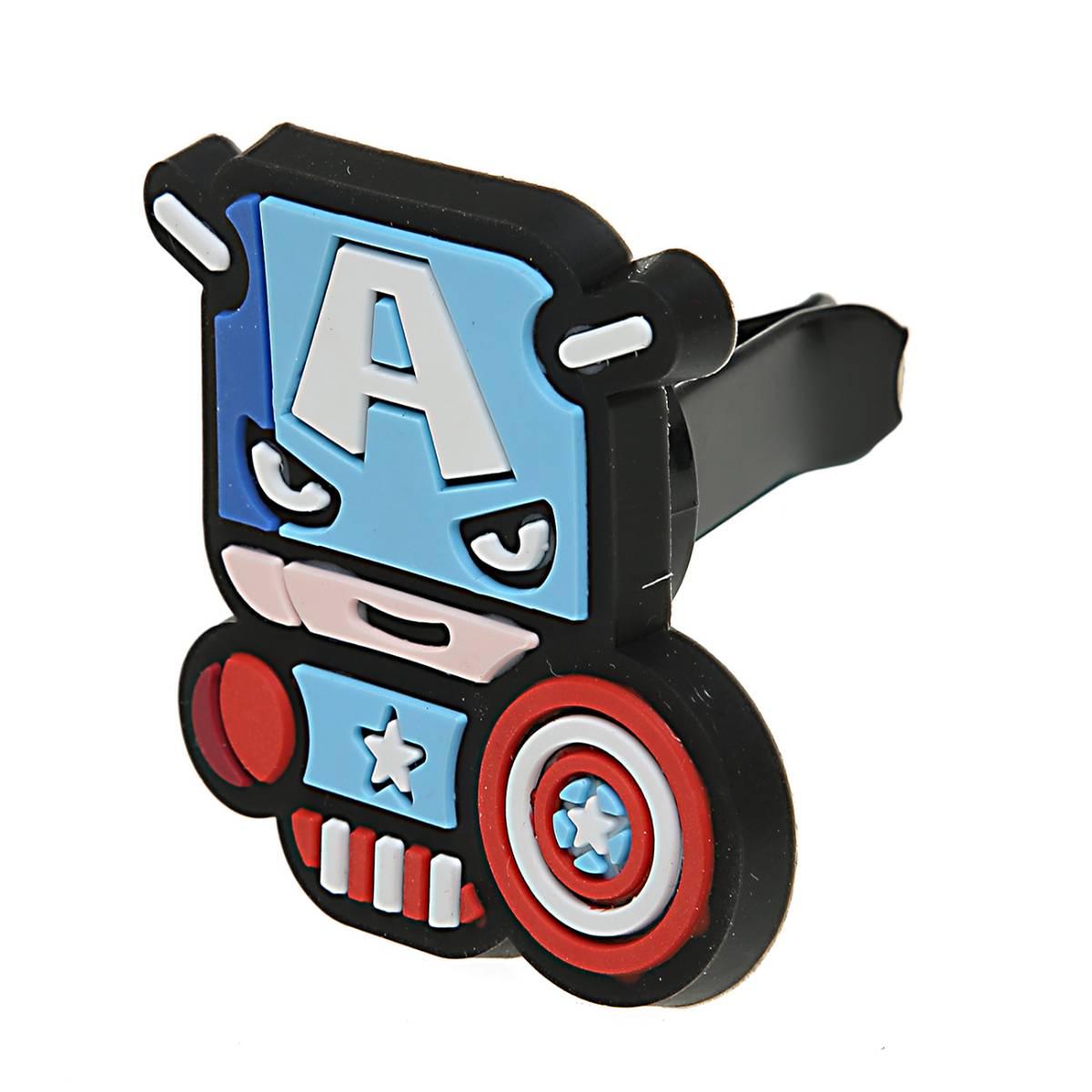 Sale - Car Perfume Vent Clip / Parfum Pewangi Mobil Superhero - Captain America3