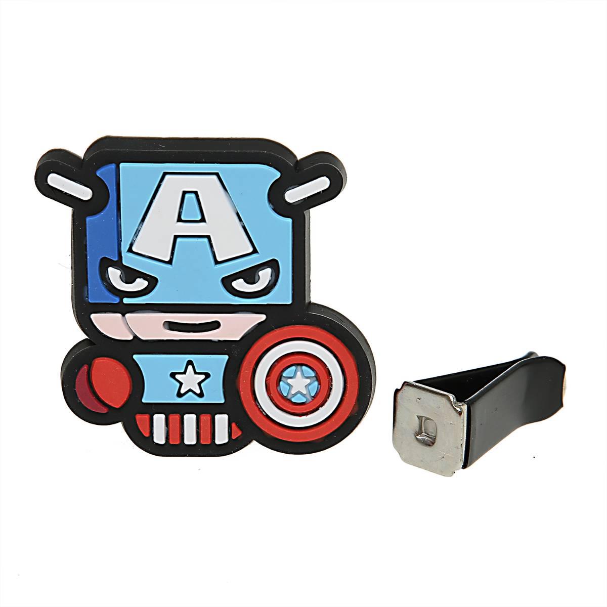 Sale - Car Perfume Vent Clip / Parfum Pewangi Mobil Superhero - Captain America4