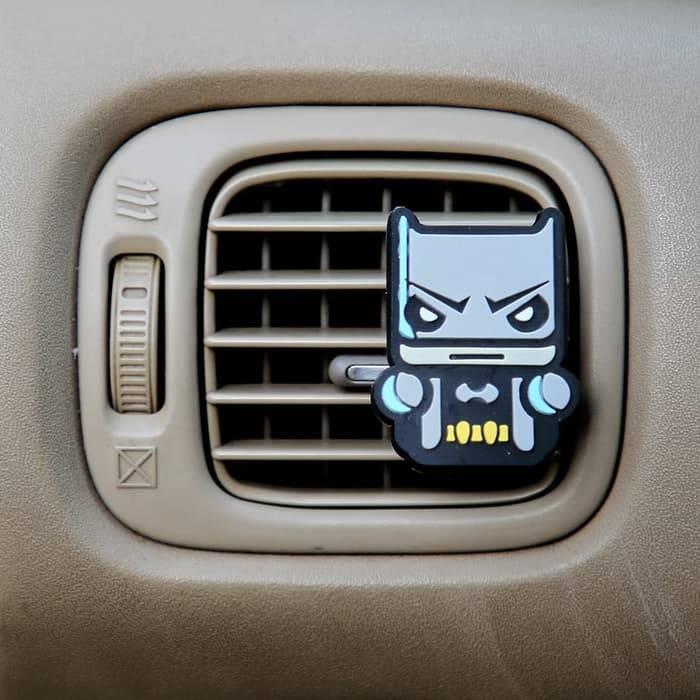 Sale - Car Perfume Vent Clip / Parfum Pewangi Mobil Superhero - Batman4