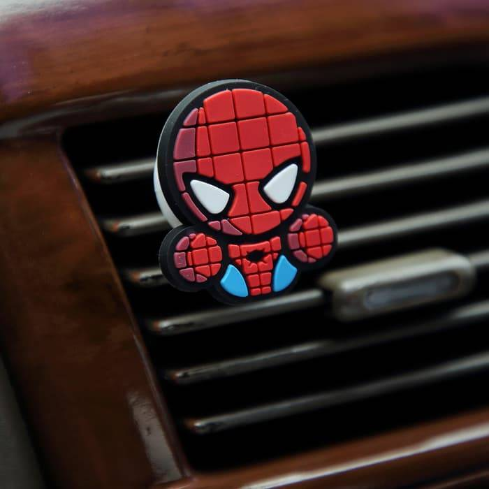 Sale - Car Perfume Vent Clip / Parfum Pewangi Mobil Superhero - Spiderman2