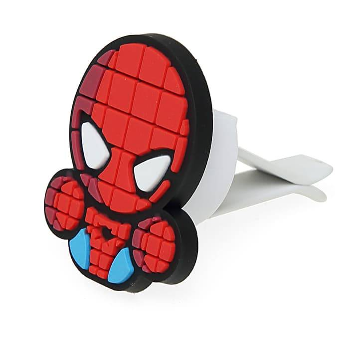 Sale - Car Perfume Vent Clip / Parfum Pewangi Mobil Superhero - Spiderman3