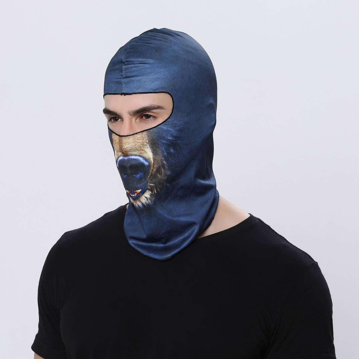 Masker Motor / Sepeda / Olah Raga Balaclava Motif 01