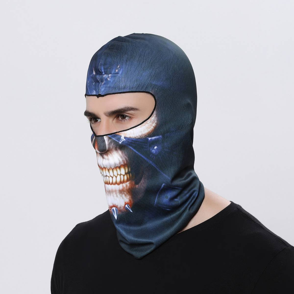 Masker Motor / Sepeda / Olah Raga Balaclava Motif 04
