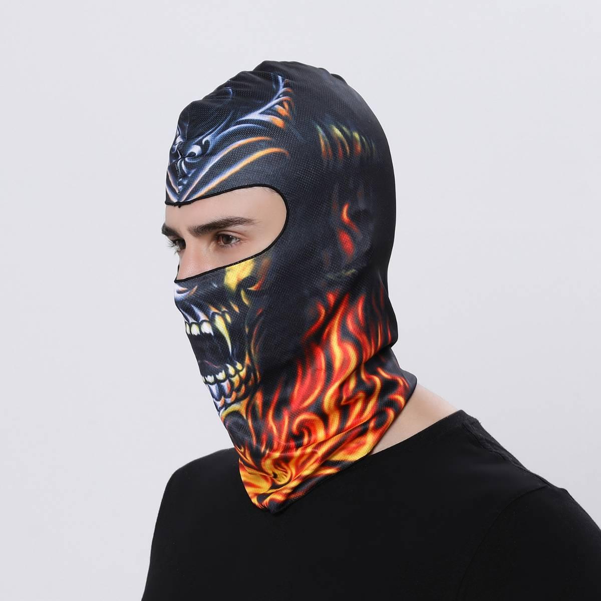 Masker Motor / Sepeda / Olah Raga Balaclava Motif 100
