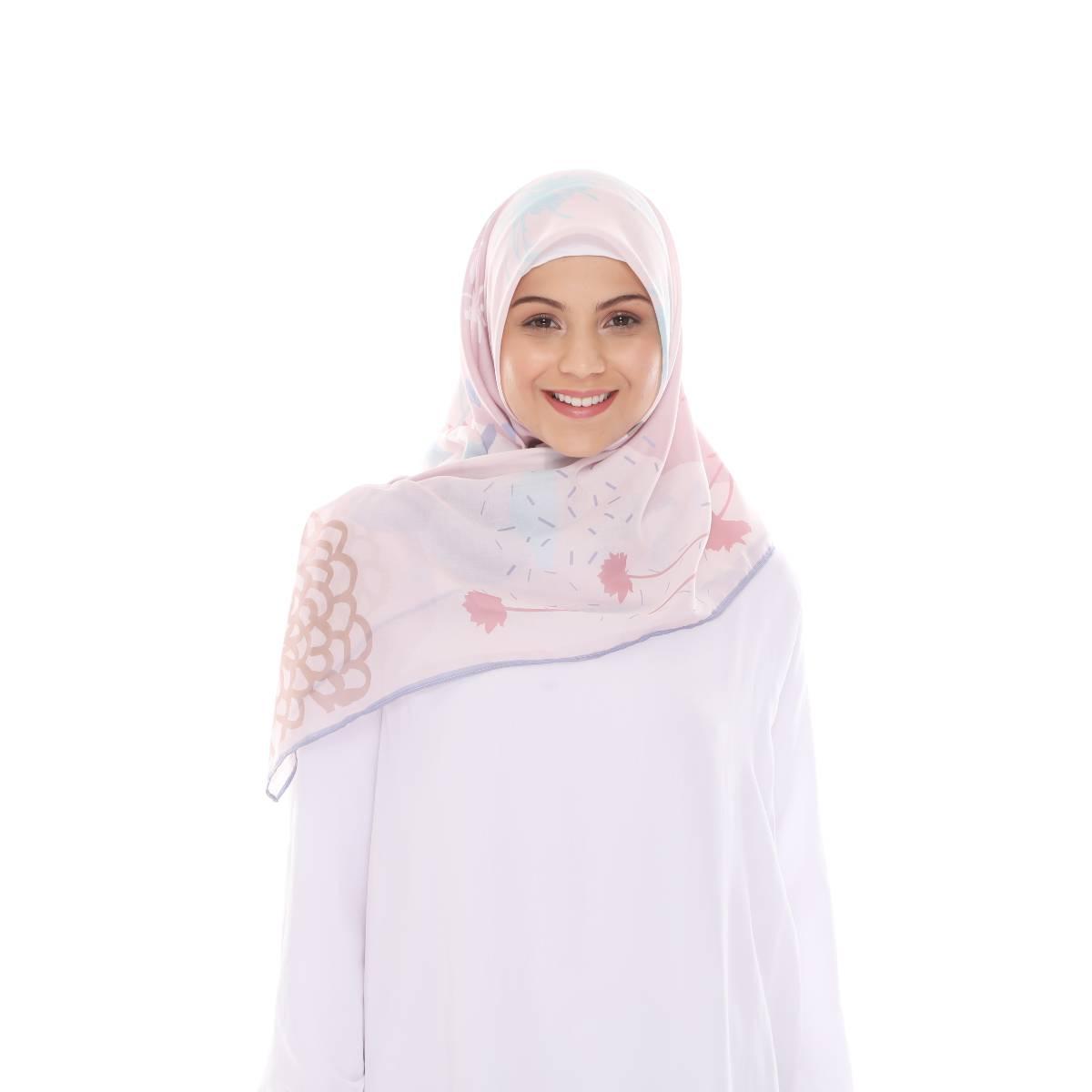 Hijab Print Voal Ultrafine Original (segi 4) Calling Nate Design1