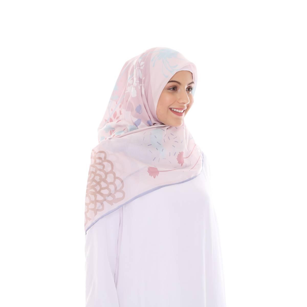 Hijab Print Voal Ultrafine Original (segi 4) Calling Nate Design2