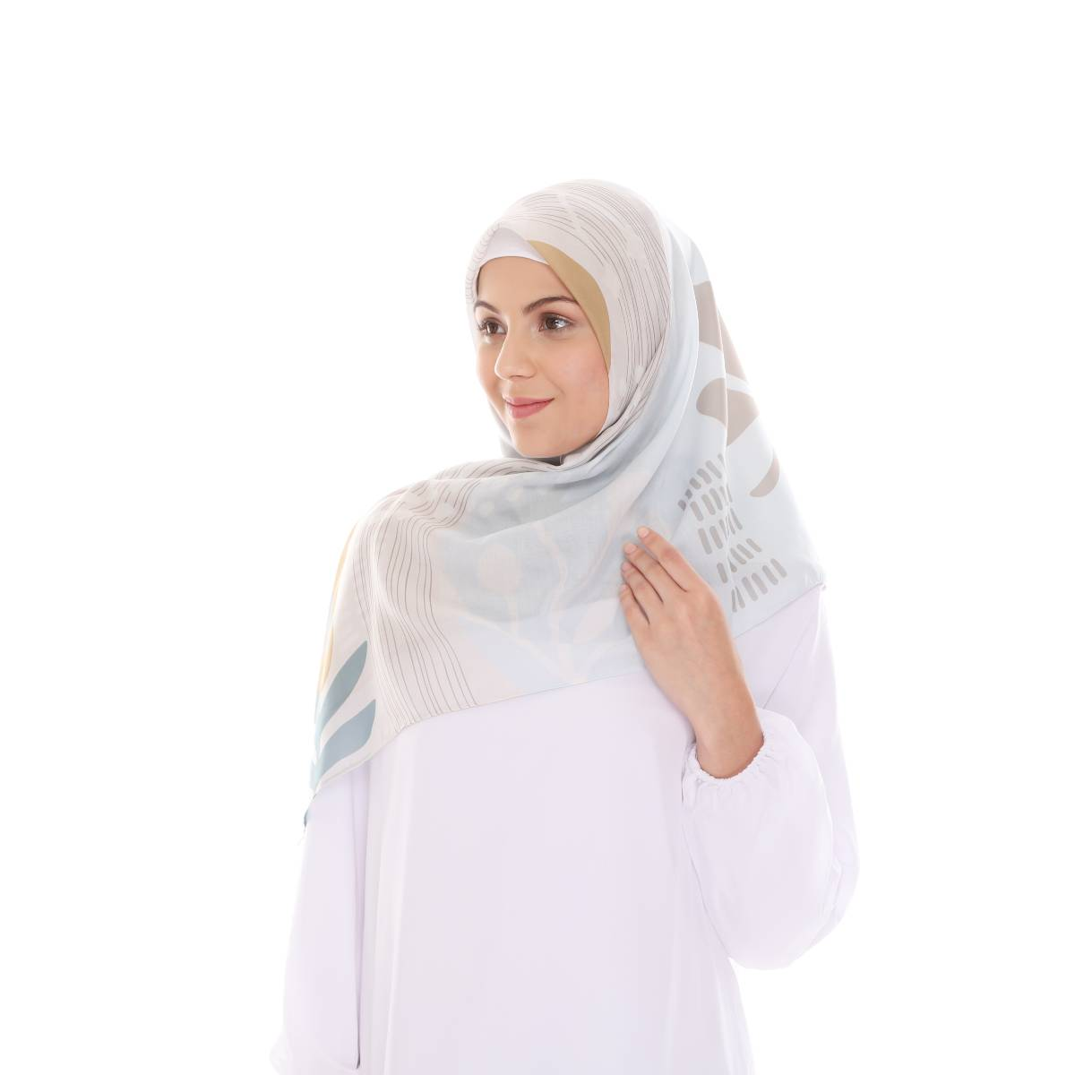 Hijab Print Voal Ultrafine Original (segi 4) Fall Livi Design