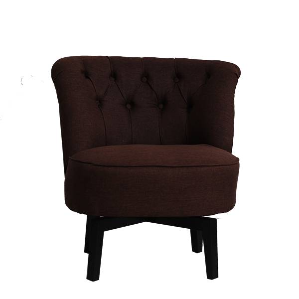 SOFA SINGLE ARM CHAIR NAGOYA - BROWN