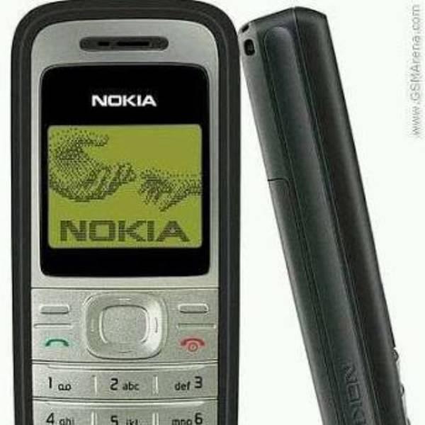 Nokia Jadul 1200 Mesin Original 100% Original