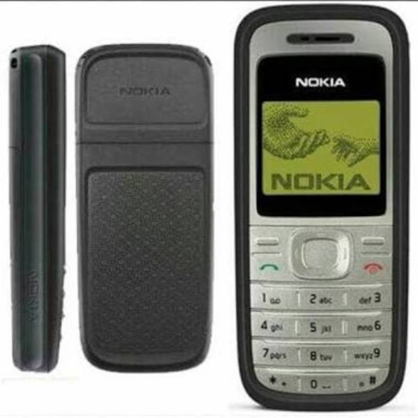 Nokia Jadul 1200 Mesin Original 100% Original2