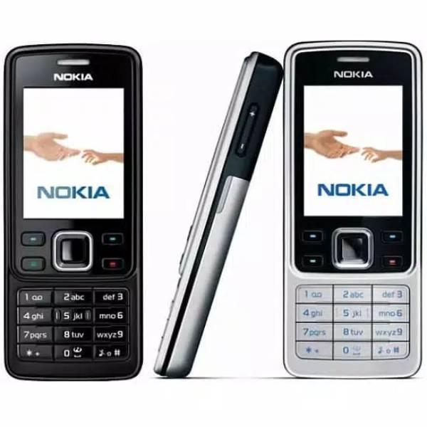 Nokia Jadul 6300 Mesin Original 100% Rekondisi