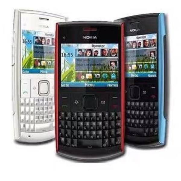Nokia Jadul X2-01 Mesin Original 100% Original