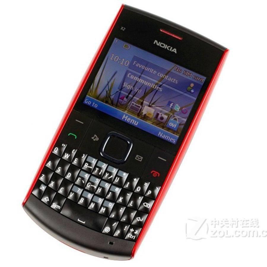 Nokia Jadul X2-01 Mesin Original 100% Original1