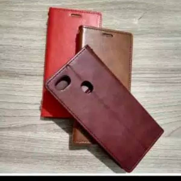 COVER IPHONE X - XS DOMPET KULIT - CASE
