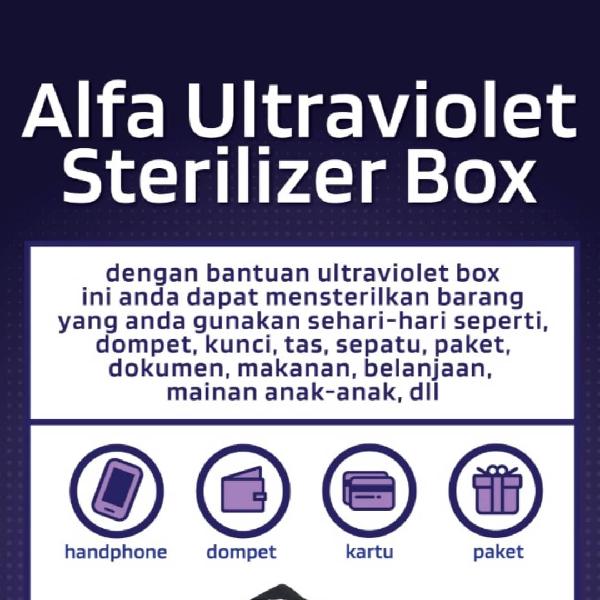 LAMPU UVC  BOX ALFA3