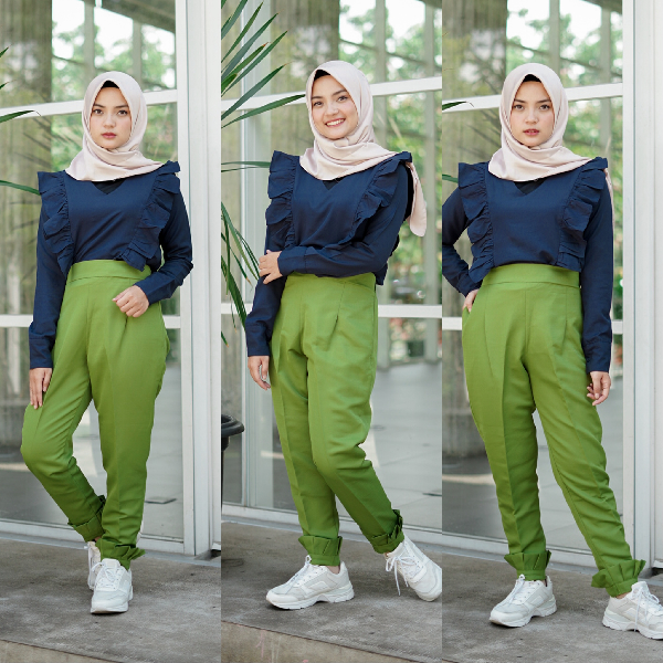 Zytha Pants Green