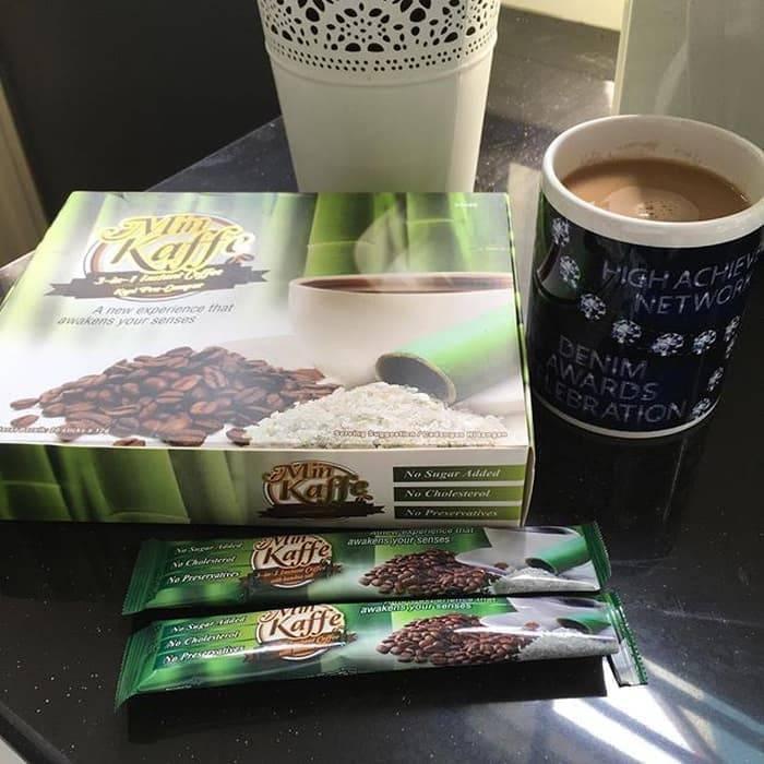 Kopi Instan Dengan Garam Buluh Korea, Min Kaffe - 20x12gr Pcs / Pack
