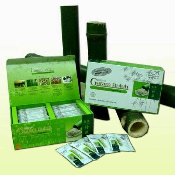 Garam Buluh Minum - Bamboo Salt Drinking ( 30 * 5gr /box) Copy
