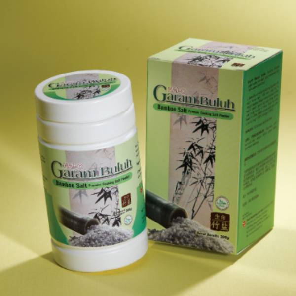 Garam Buluh Masak - Bamboo Salt Cooking @200 Gr/botol