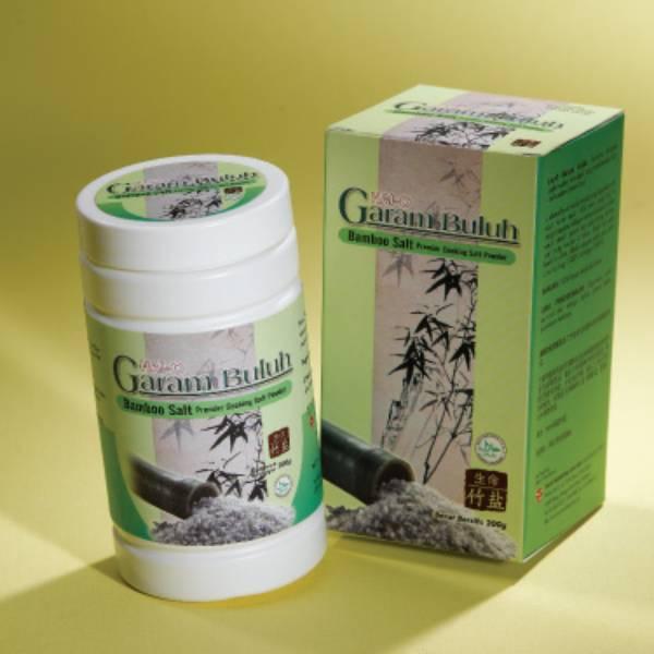 Garam Buluh Masak - Bamboo Salt Cooking @200 Gr/botol0