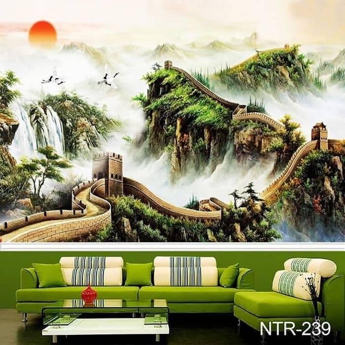 Wallpaper Custom Wallpaper 3d Wallpaper Dinding Batik J P Shop Outletz