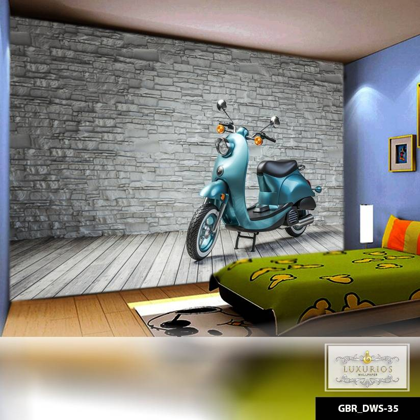 Wallpaper Custom Wallpaper 3d Wallpaper Dinding Motor0