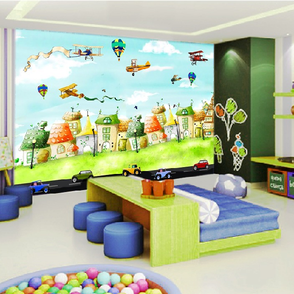 Wallpaper Custom Wallpaper 3d Wallpaper Dinding Anak-Anak