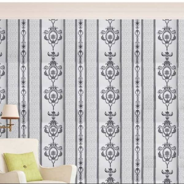 WALLPAPER BATIK HITAM WALLPAPER STICKER 45CM X 10M KODE ZF112
