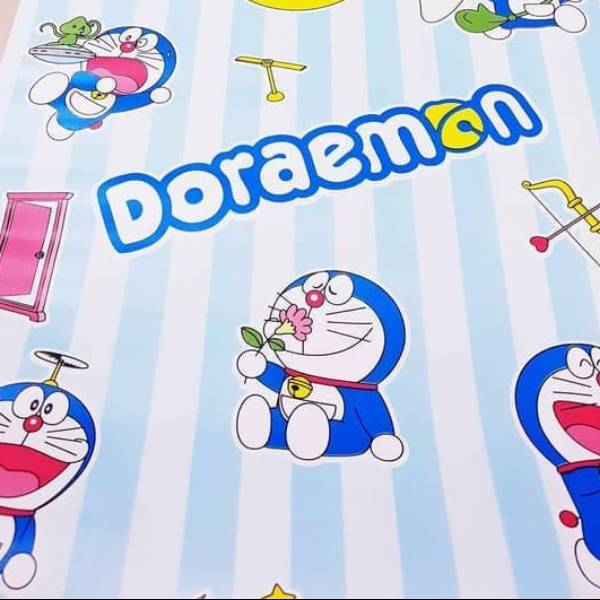 WALLPAPER ANAK WALLPAPER STICKER 45CM X 10M KODE ZF102 DORAEMON