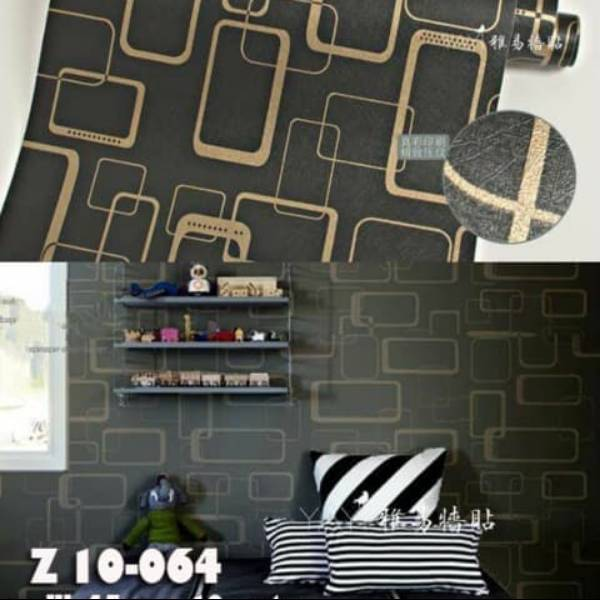 WALLPAPER STICKER 45CM X 10M KODE ZF64
