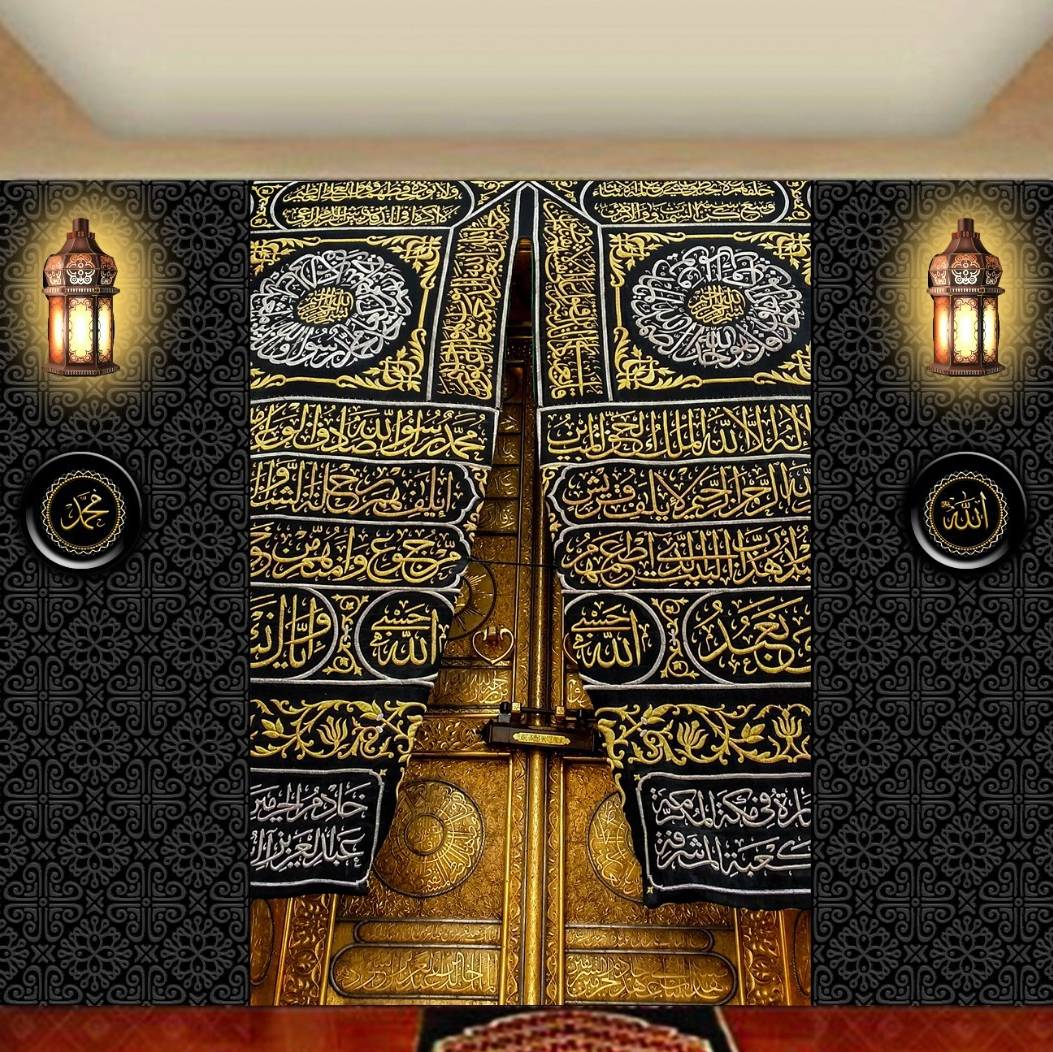 Wallpaper Custom Wallpaper 3d Wallpaper Dinding Pintu Kabah0