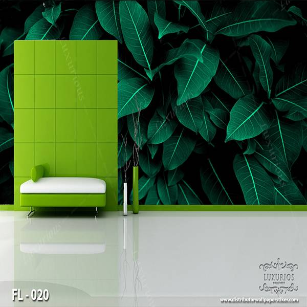 3D Wallpaper Custom Wallpaper Dinding - Flower FL - 0200
