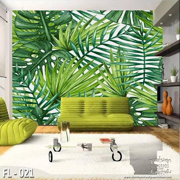 3D Wallpaper Custom Wallpaper Dinding - Flower FL - 0210
