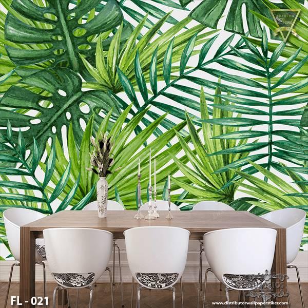 3D Wallpaper Custom Wallpaper Dinding - Flower FL - 0211