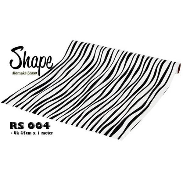Remake Sheet | RS 004 - Motif Zebra2
