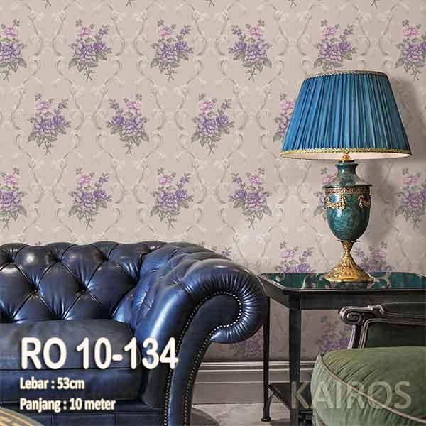 RO 10-134 | Wallpaper Bunga Ungu | Wallpaper Premium (BUKAN STICKER)0