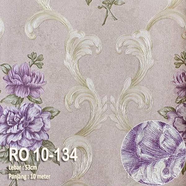 RO 10-134 | Wallpaper Bunga Ungu | Wallpaper Premium (BUKAN STICKER)1