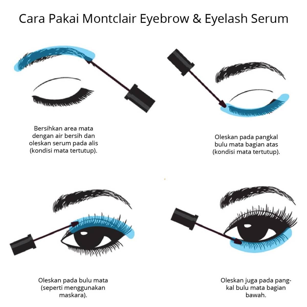 Montclair Grasse Eyebrow & Eyelash Serum | Serum Penumbuh Alis Dan Bulu Mata Terbaik1