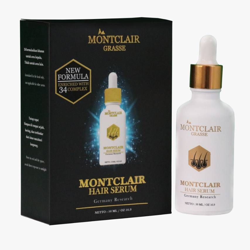 Montclair Grasse Hair Serum NEW FORMULA - Qty 10btl