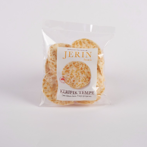 Kripik Tempe Jerin 5 pack 65 Gr
