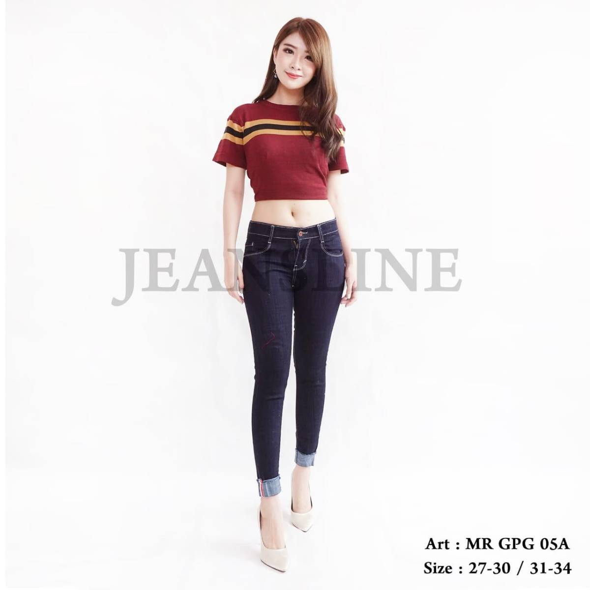 Celana Panjang Jeans Ladies (mr Gpg 05a) - Size 31, 32, 33, 34