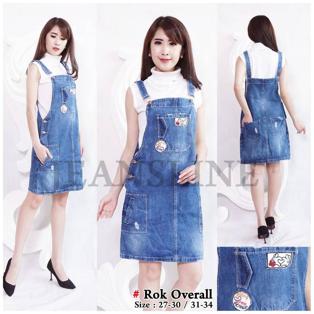 Rok Overall Jeans (size 27, 28, 29, 30)