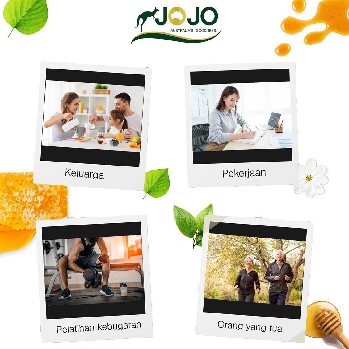 Jojo Manuka Honey Mg0 30+ 500 Gr ( 6 Botol)3