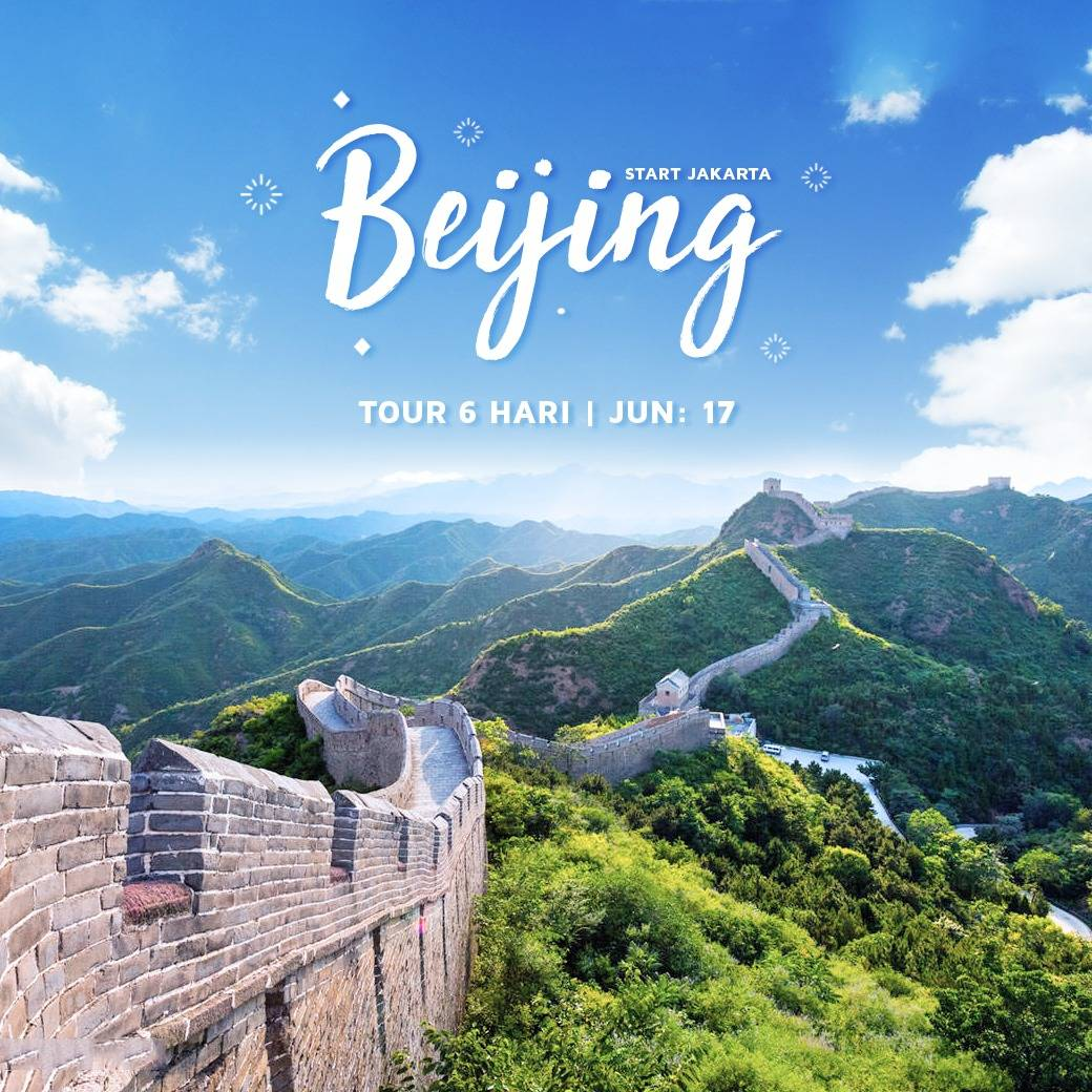 6D BEIJING TOUR BY AIR CHINA