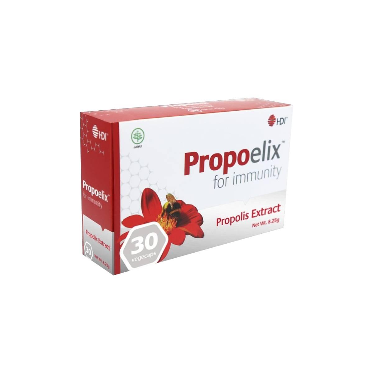 Promo Propoelix Immune Boster 60 vegecaps 200 mg