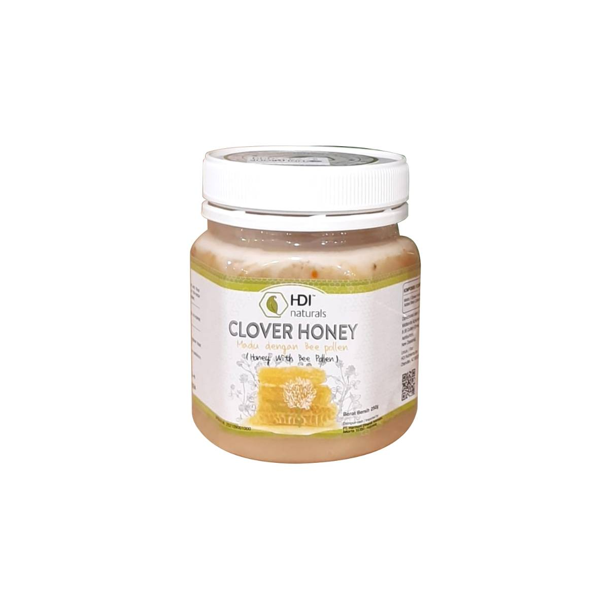 HDI CLOVER HONEY 250gr ORIGINAL BPOM