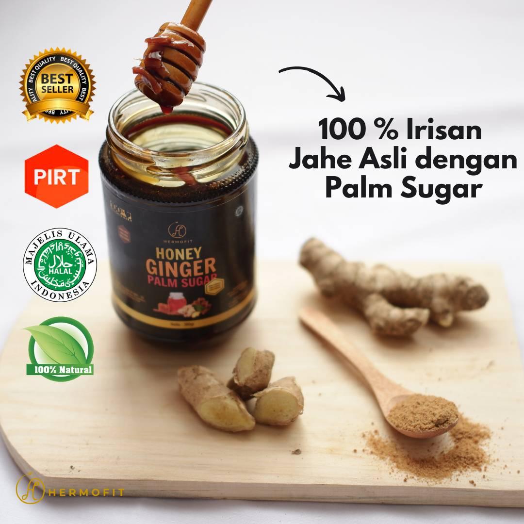 Hermofit Honey Ginger Palm Sugar 380 gram0