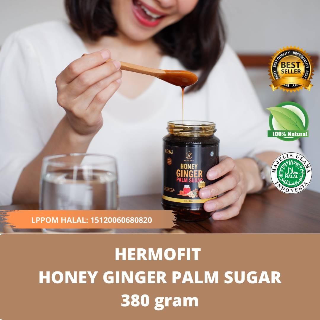 Hermofit Honey Ginger Palm Sugar 380 gram1