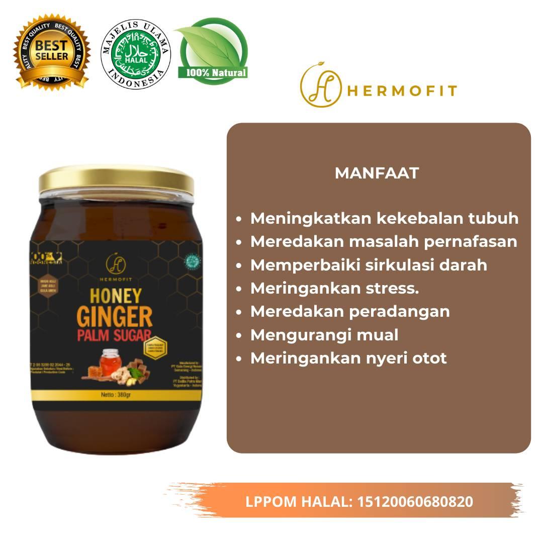 Hermofit Honey Ginger Palm Sugar 380 gram2